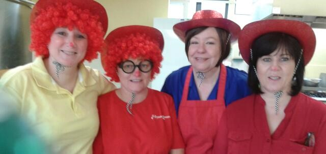 Our Team on Red Nose Day